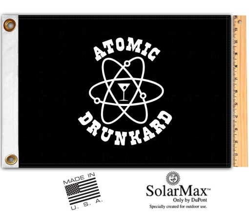 Atomic Drunkard Flag
