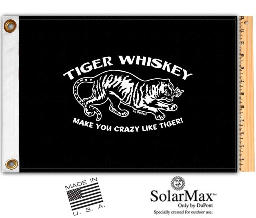 Tiger Whiskey Flag