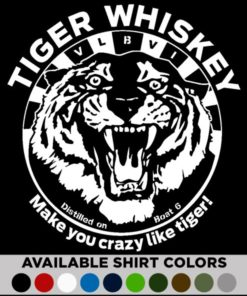 tiger whiskey t-shirt v2