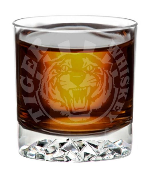 tiger whiskey tumbler